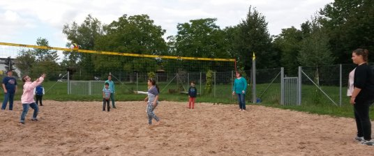 Volleyballturnier am 08.09.2015