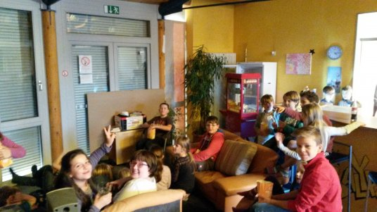 Kids Club Kino am 5.11.2015