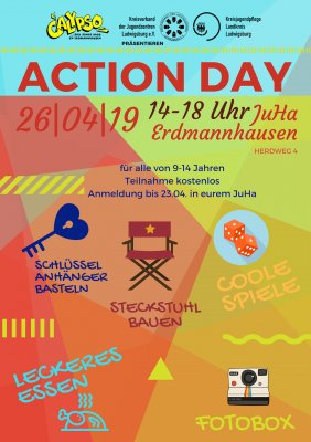 Action Day am 26. April 2019 im Calypso